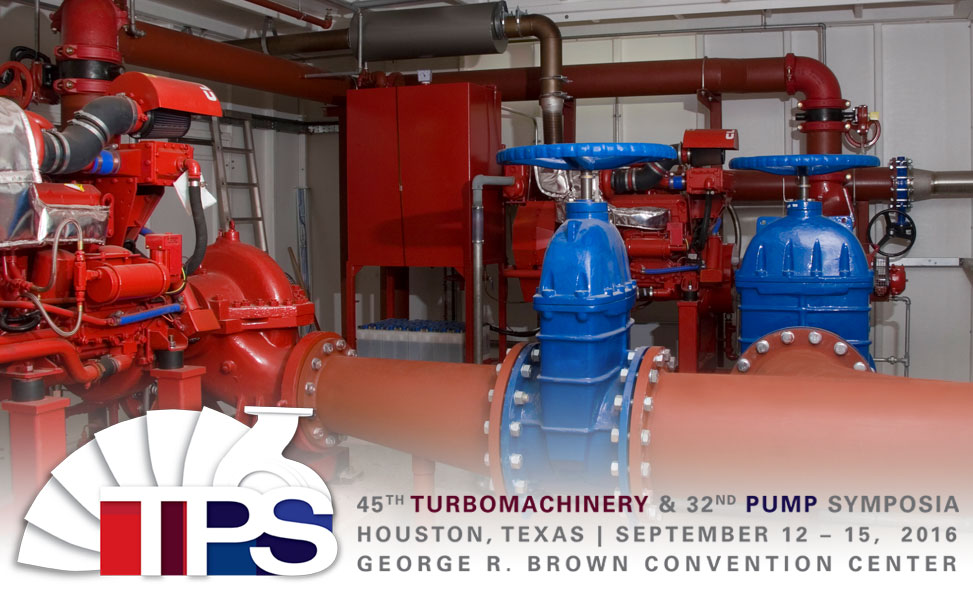 Turbomachinery and 32nd Pump Symposia Logo
